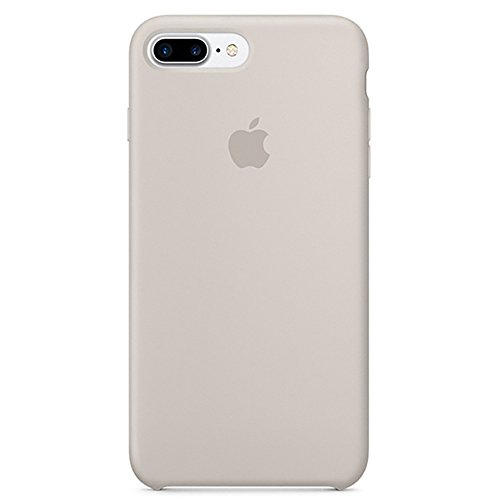 Opshell Soft Silicone Case Cover for Apple iPhone 8 Plus (5.5inch) Boxed- Retail Packaging (Stone)