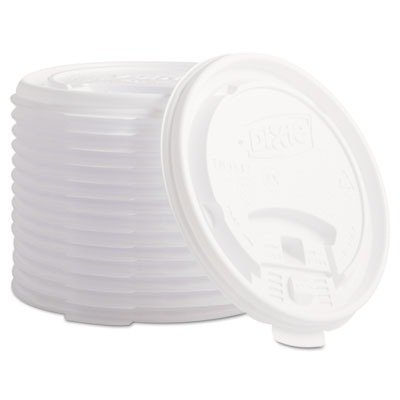 DXETB9542 - Dixie Plastic Lids for Hot Drink Cups by Dixie