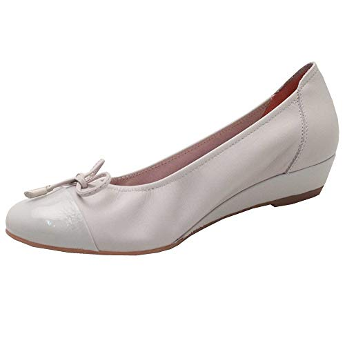 Sabrinas Ballet Low Pump Grey Soft Leather Wedge 8I8qrS