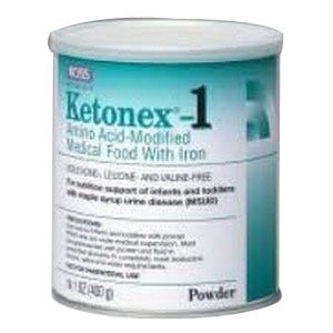 Ketonex 1 Amino Acid Modified Powdered Medical Food with Iron 14.1 OZ. Can