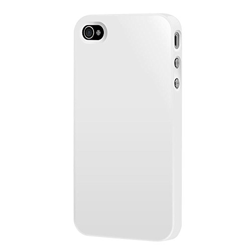 SwitchEasy SW-NU5-W Nude Slim Case for iPhone SE , iPhone 5 and iPhone 5s - White