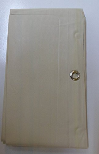 100 Vinyl Beige Magnetic Shower Curtain Liner With Grommets Mildew And Water Resistant Standard Size