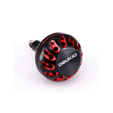 Fishing Fishing Reel - 45mm Fishing Reel Handle Knob for D/S/A Baitcasting Drum Fishing Reel Fishing Tackle - Red - s