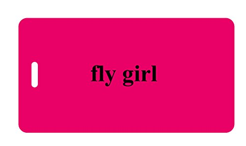 Luggage Tag - fly girl - Humorous Luggage Tags