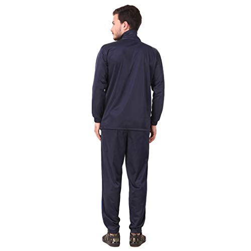 31T1 ABLSRL. SS500  - Fashion7 Men's Polyester Tracksuit - Tracksuit for Men Sports (Blue)
