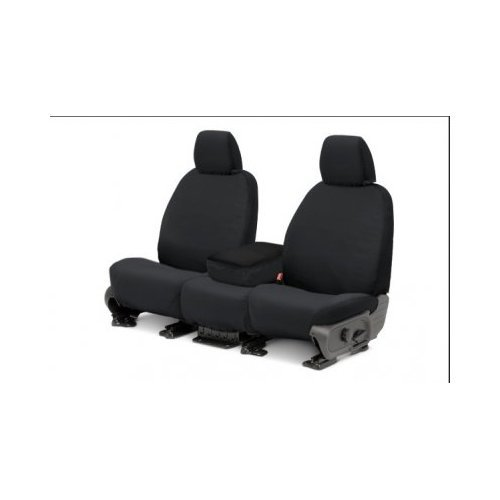Covercraft SS2444PCCH SeatSaver Front Row Custom Fit Seat Cover for Select Ford Explorer Models Charcoal Polycotton