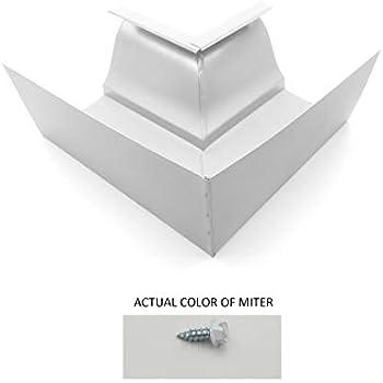 Amazon Com Eagle 1 6 Quot Inside 90 Degree Aluminum Gutter