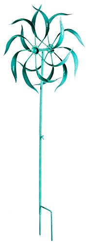 Playful Brights Kinetic Garden Stake, Turq