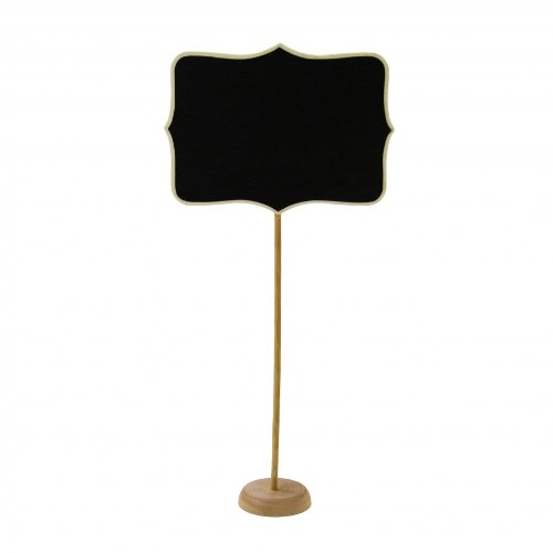 Dress My Cupcake 1-Pack Vintage Chalkboard Table Number Holder for Dessert Table (Vintage Cupcake Holder compare prices)