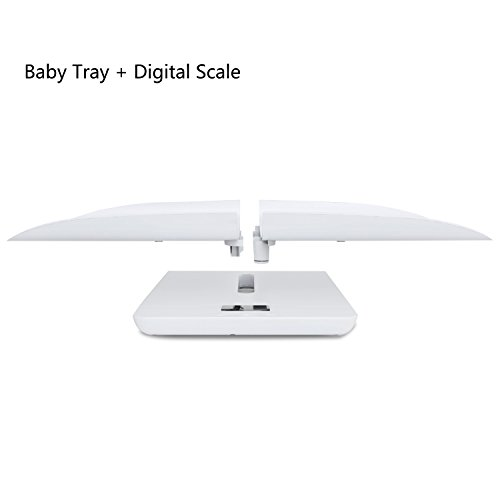 Multi-Function Digital Pet Scale to Measure Dog and Cat Weight Accurately Up to 220 Lbs, Precision at ± 10g, Blue Backlight, Especially for Pregnant Cats and Baby Pets (60 cm) by TeaTime (Image #4)