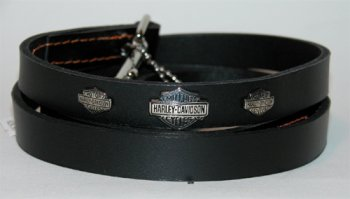 Harley Davidson Leather Lead 5/8in x 4ft