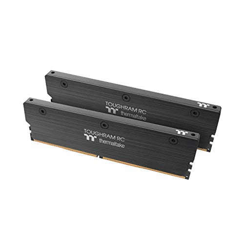 Thermaltake TOUGHRAM RC DDR4 4400MHz C19 16GB (8GB x 2) Memory Intel XMP 2.0 Ready with Real-Time Performance Monitoring Software RA24D408GX2-4400C19A