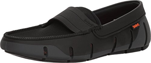 Graphite Single - SWIMS Mens Stride Single Band Keeper Loafer, Graphite/Black, Size 12