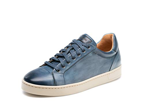 (Magnanni Erardo Lo Navy Men's Fashion Sneakers Size 8.5 US)