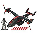GI Joe Black Dragon VTOL With Cobra Air Trooper