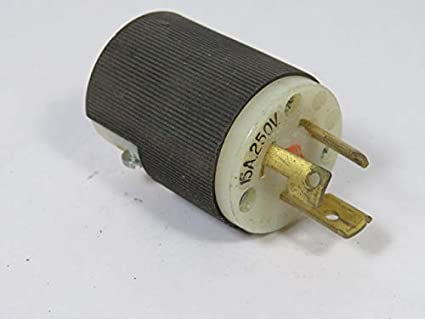 Hubbell Twist-Lock Receptacle 10 A//600V.A.C. WARRANTY P-2410 20A//250V Used