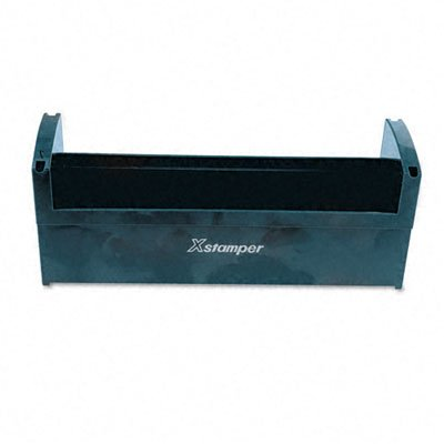 SHA07515   Xstamper Plastic Stamp Tray, TURQUOISE (OR TURQUOISE BLUE)