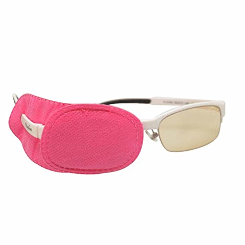 Children Amblyopia Eye Patches 6pcs Size S M L Kids Astigmatism Strabismus Lazy Eye Patch Boys Girls Vision Training (M, Pink) from EnzoDate