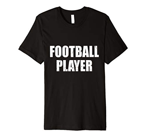 Football Player Halloween Costume Party Cute & Funny T shirt]()