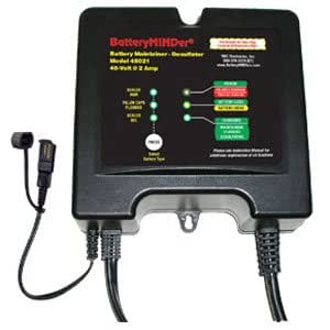 BatteryMINDer Maintainer/Desulfater - 2 Amps for 48V Systems, Model# 48021