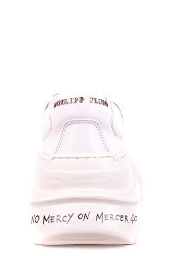 Plein Donna Sneakers Philipp Wsc1088ple075n01 Bianco Pelle T14HHnx