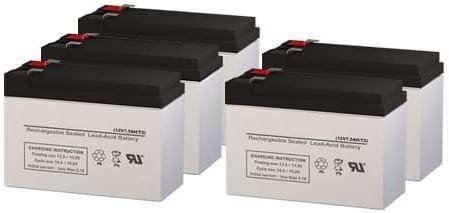 Set of 5 para Systems Minuteman CP 1KA UPS Replacement Batteries