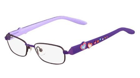 Disney Princess Womens Eyeglasses - Disney Eyewear Princess Royal Hearts Eyeglasses 516 Iced Grape 47 15 125