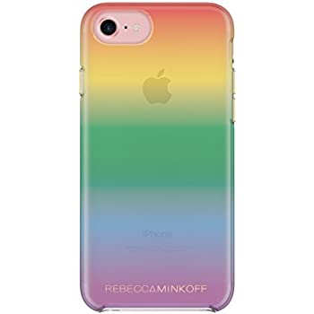 brand new 65640 7cfa4 Rebecca Minkoff Double Up Case for iPhone 8 & iPhone 7 - Rainbow Case  Transparent Ombre