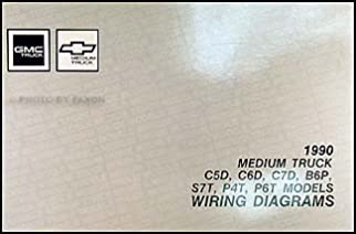1990 gmc chevy 5000 7000 medium duty wiring diagram manual original1990 gmc chevy 5000 7000 medium duty wiring diagram manual original gmc amazon com books