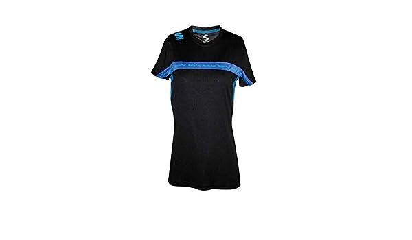 Softee - Camiseta Padel Club Mujer Color Negro/Royal Talla ...