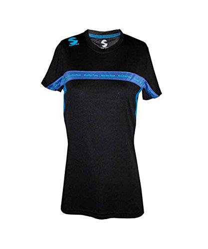 Softee - Camiseta Padel Club Mujer Color Negro/Royal Talla XS ...