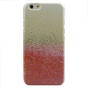 ZL Golden Red Gradient Pattern hard Case for iPhone 6
