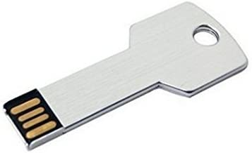 Yonger USB Flash Drive Silver 2.0 Key Shape High Speed Data Recovery Mobile Computer U-Disk Device