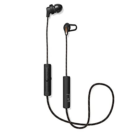 Klipsch T5 Sport Wireless Earbuds with Three-Button Remote and Microphone  (Black)