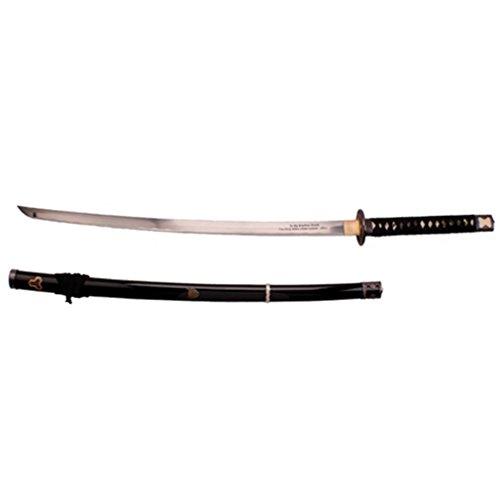 Musashi Handmade Battle Ready Hattori Hanzo Kill Bill Budds Sword Katana Full Tang 1045 Carbon Steel Blade