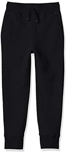 Amazon Essentials Toddler Boys' Fleece Jogger Sweatpant, Black, 3T