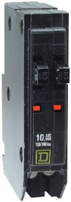 Square D By Schneider Electric QO2020CP 20A Single-Pole Tandem Circuit Breaker