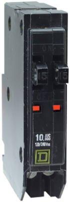 Square D Circuit Breaker W/0 Pan Rail Slots 15/15 Amp Bulk