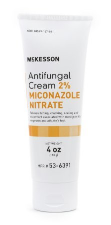 Antifungal Cream 2% Miconazole Nitrate 4 Oz Tube Formerly Repara New Packaging by McKesson