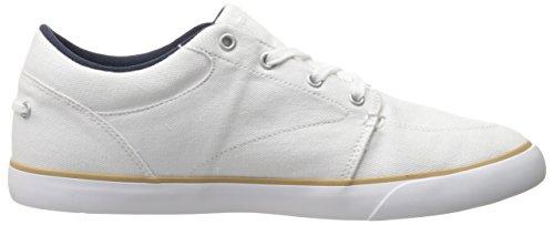 Lacoste Mens Bayliss 116 2 Sneaker Mode Blanc / Blanc