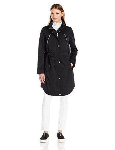 7 For All Mankind Women's Water Repellent Triple Tunnel Anorak