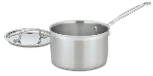 Cuisinart MCP194 20 MultiClad Stainless Steel Saucepan