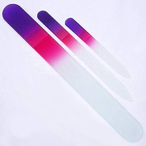 Glass Nail File Crystal Nail Sanding Buffing Nail Polish Too