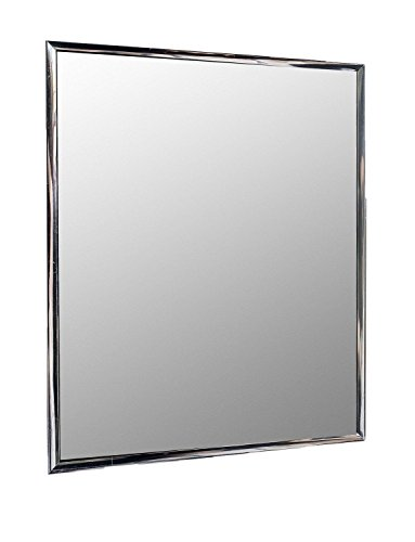 Wall Mounted Mirror Silver Framed (Framed Pivoting Mirror)