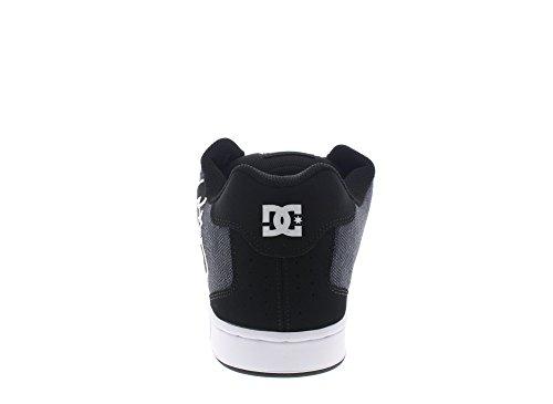 Herren De Sexssk Net Dc Sneakers Noir Foncé Utilisé