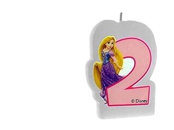 ALMACENESADAN 33528, Vela cumpleaños Disney Princesas nunemo ...