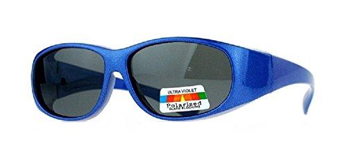 Kid's Polarized Fit Over Sunglasses -Designed to Wear Over Prescription Glasses - UVA/UVB 100% - Sunglasses Boys Prescription