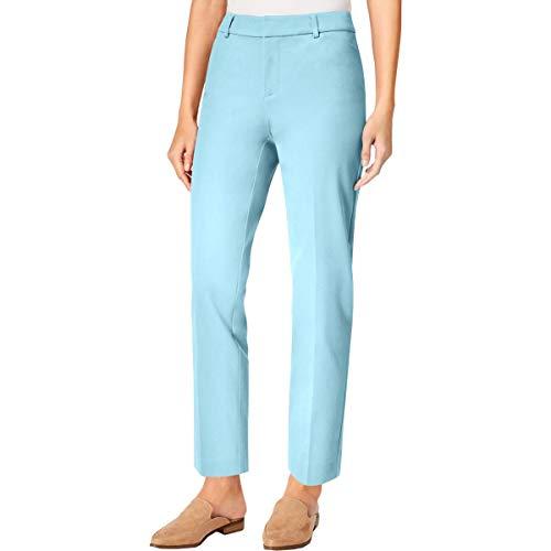 (Charter Club Womens Petites Newport Cropped Office Wear Dress Pants Blue 6P)