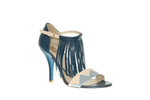 Sandalen Sandaletten aus Leder Schuhe Damen RIPA shoes - 50-63851