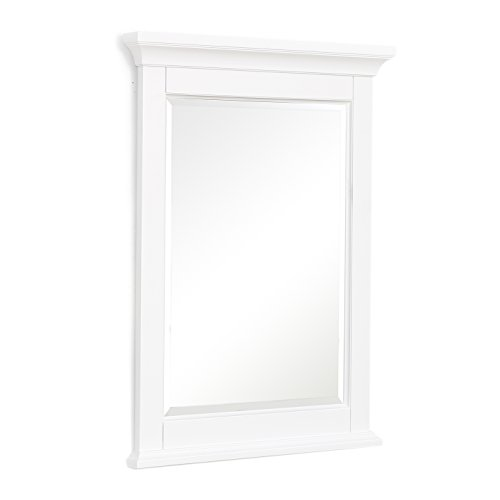 Bath Wall Collection (Kitchen Bath Collection Newport Wall Mirror (White))